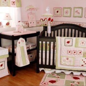 Other - Ladybug Crib Set